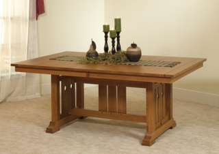 Amish oak dining room furniture